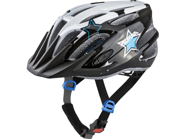 Alpina FB 2.0 Flash Cykelhjelm Børn, black-white-blue